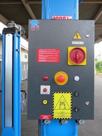 バス・トラック・大型車用移動式整備リフト コントロールパネル