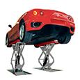 自動車整備用リフト